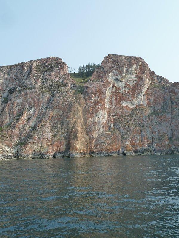 Берег Ольхона со стороны Малого моря - Галина