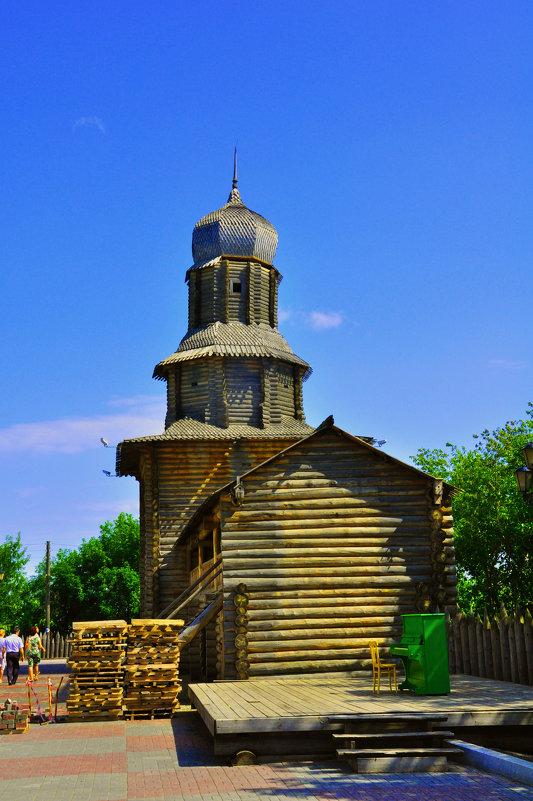 Старинный храм Томска - Александр Матвеев