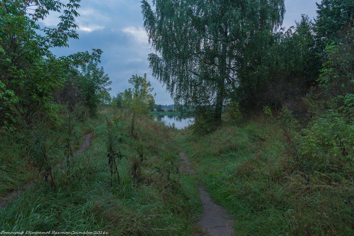 Тропинка к реке. - Виктор Евстратов