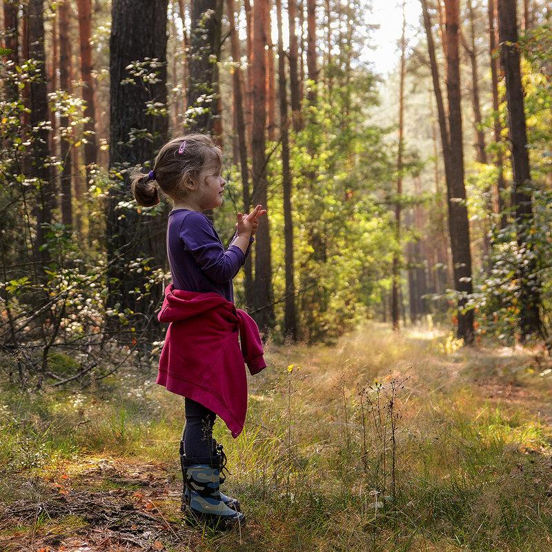 В лесу - Валерий Чернов