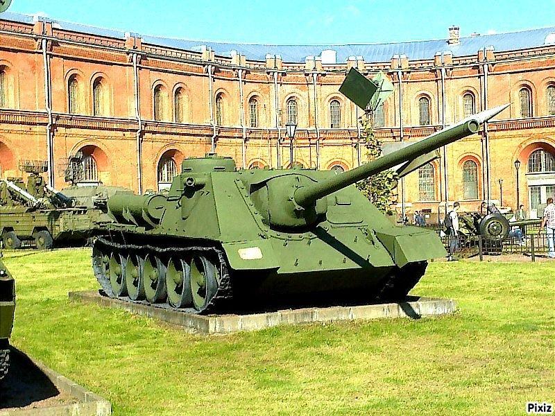 В музее артиллерии. - Виктор Егорович