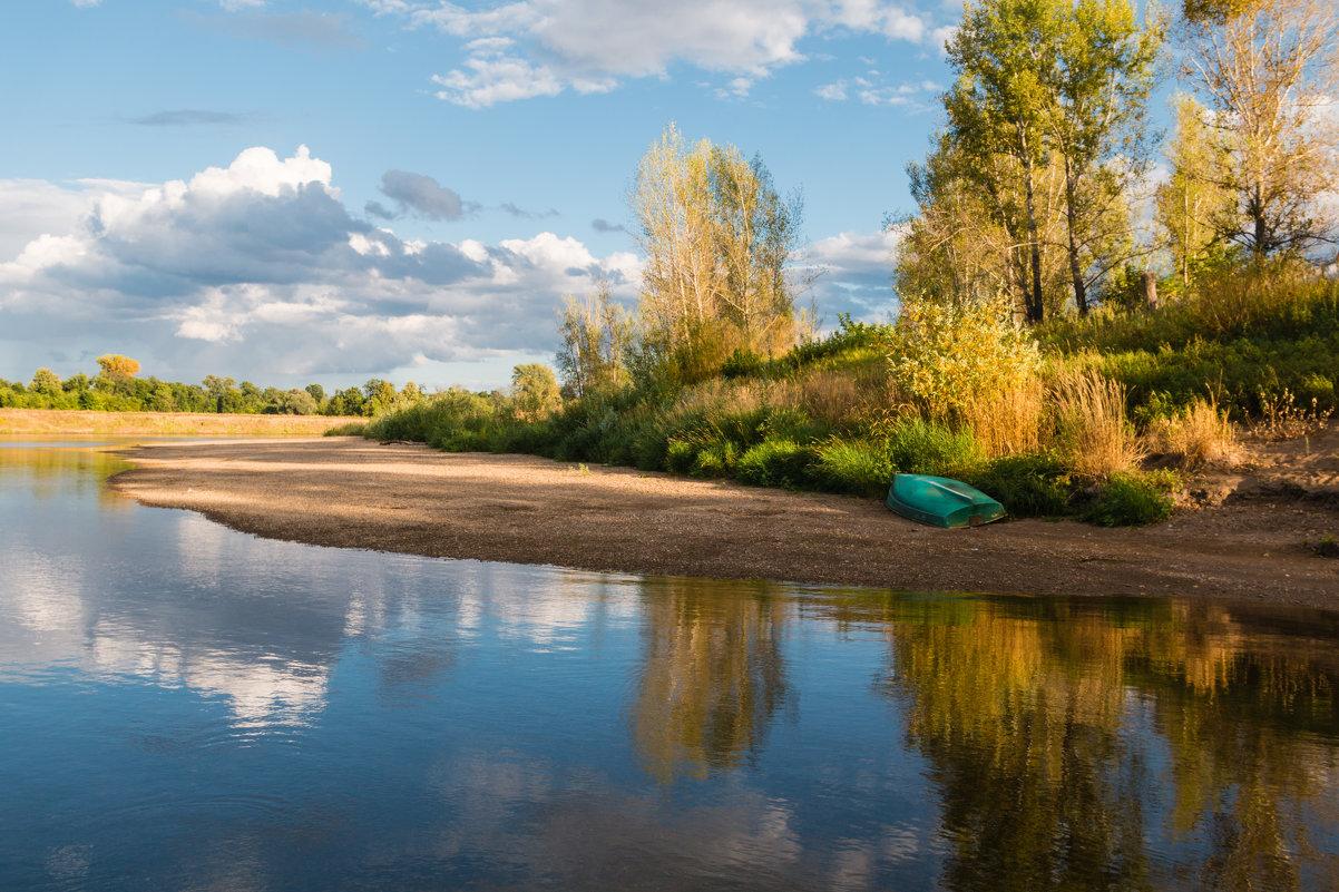 На реке. - Ольга Воронина