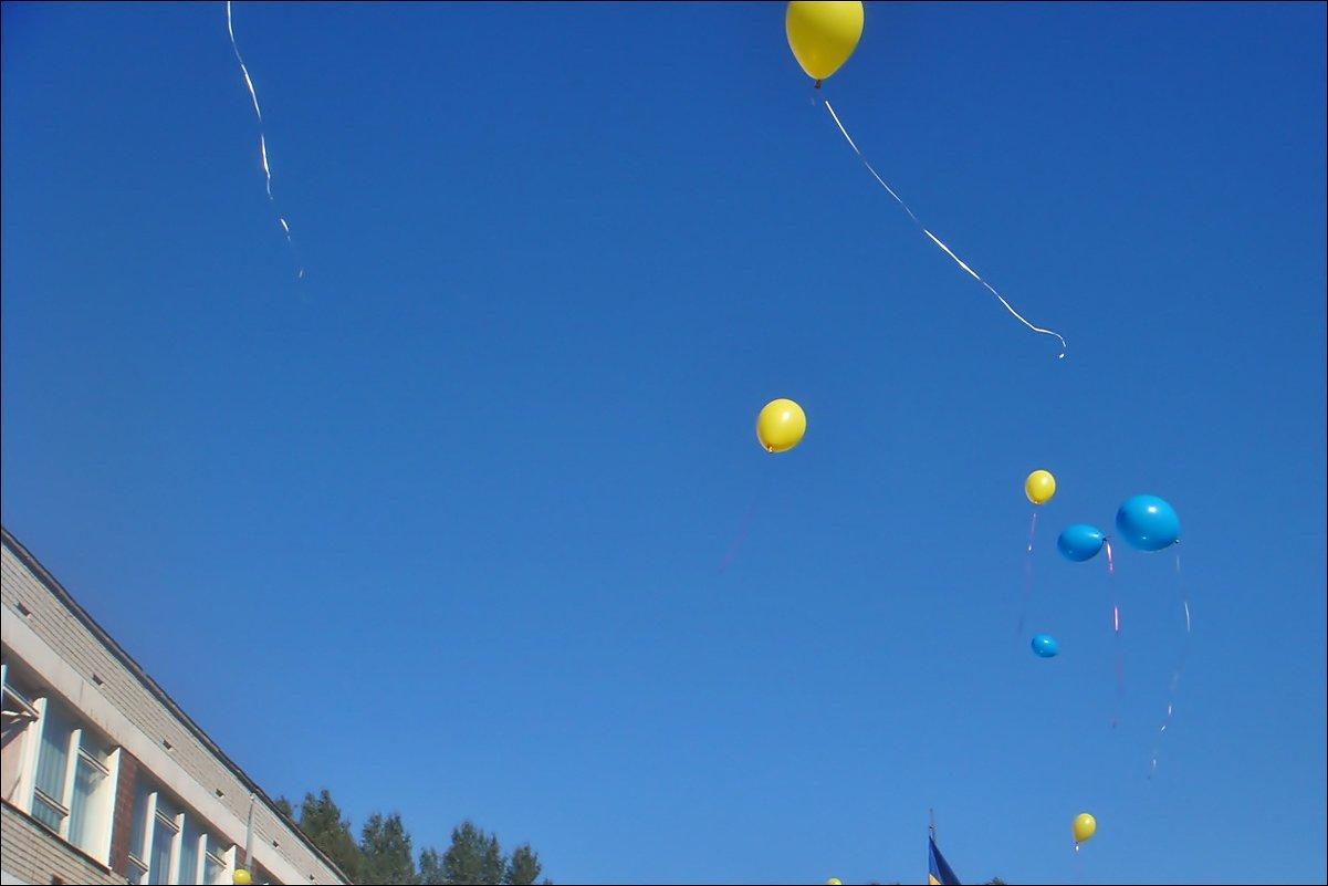 Улетели шарики в безоблачное небо... - Нина Корешкова