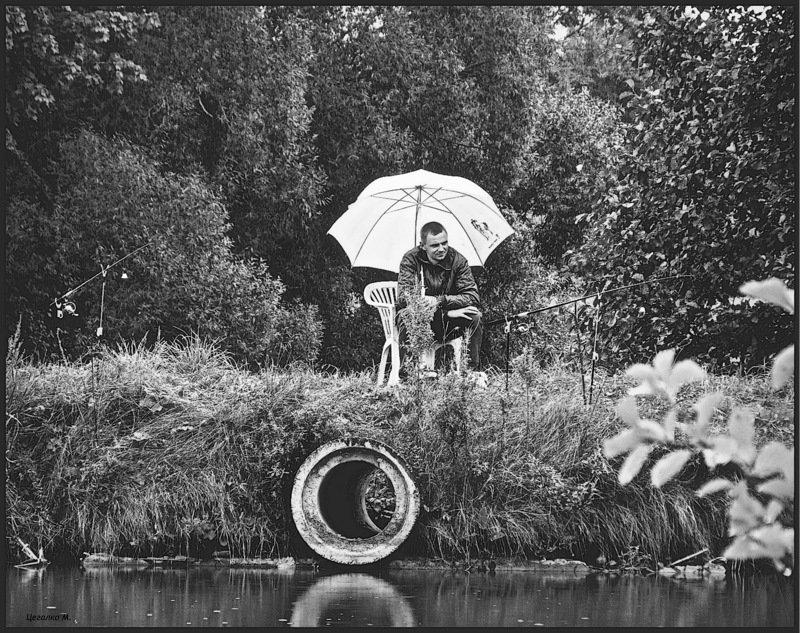 А и б сидели на трубе - Михаил Цегалко