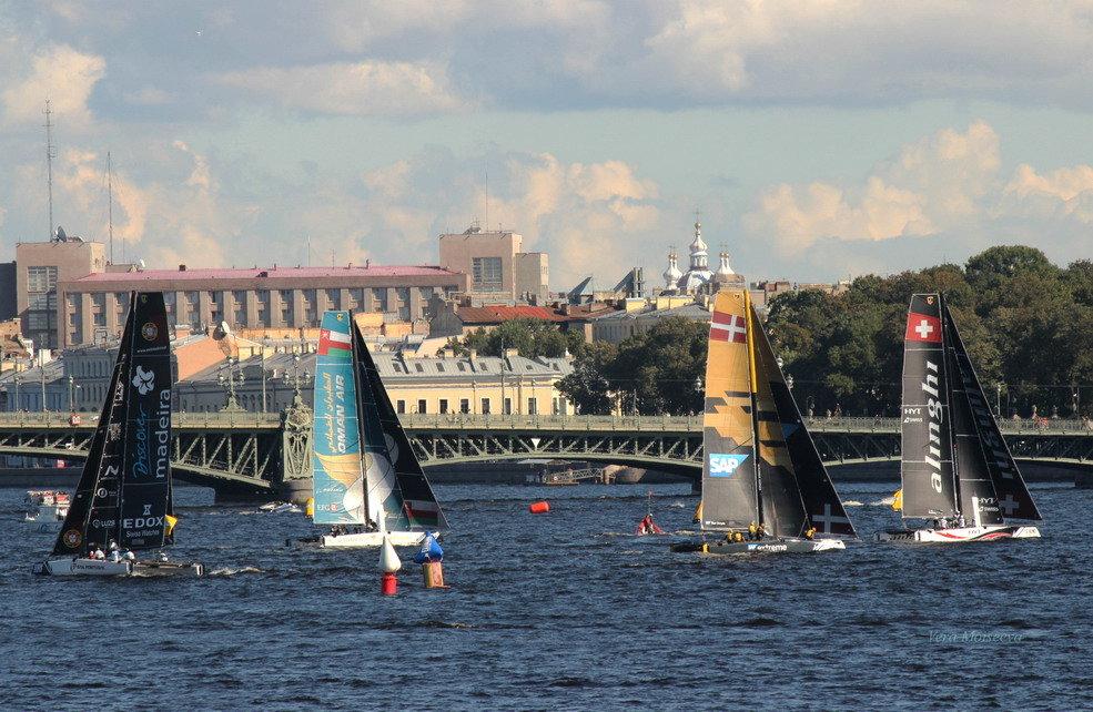 Регата Extreme sailing series - Вера Моисеева