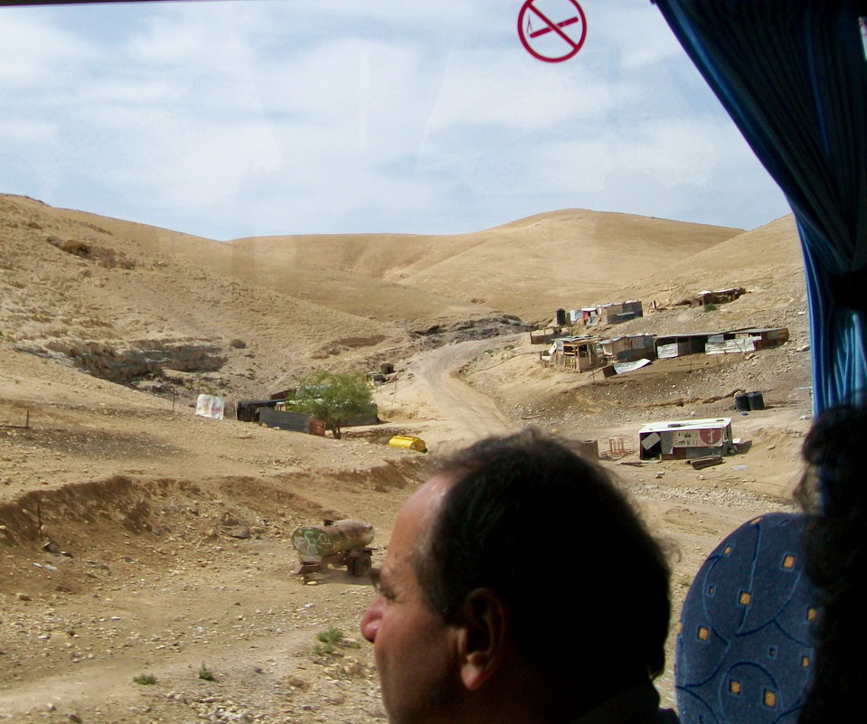 Палестина из окна автобуса - Галина Pavel