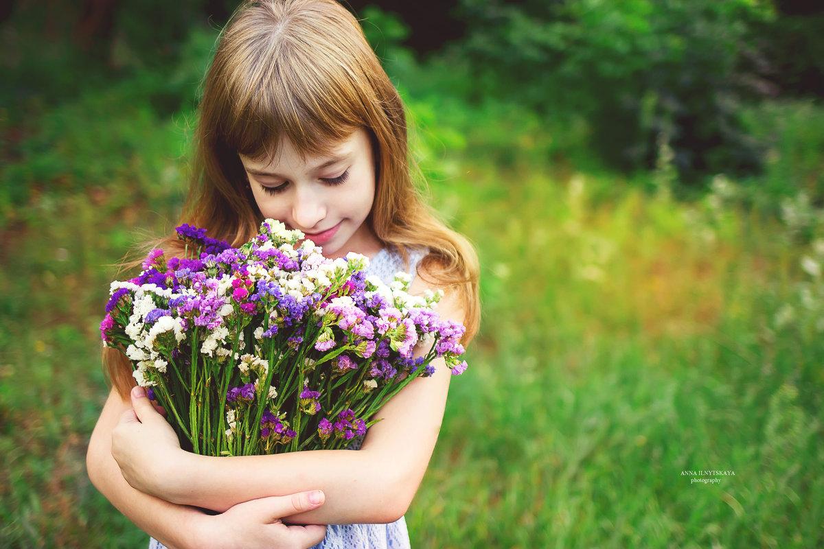 Summer flower - Анна Ильницкая