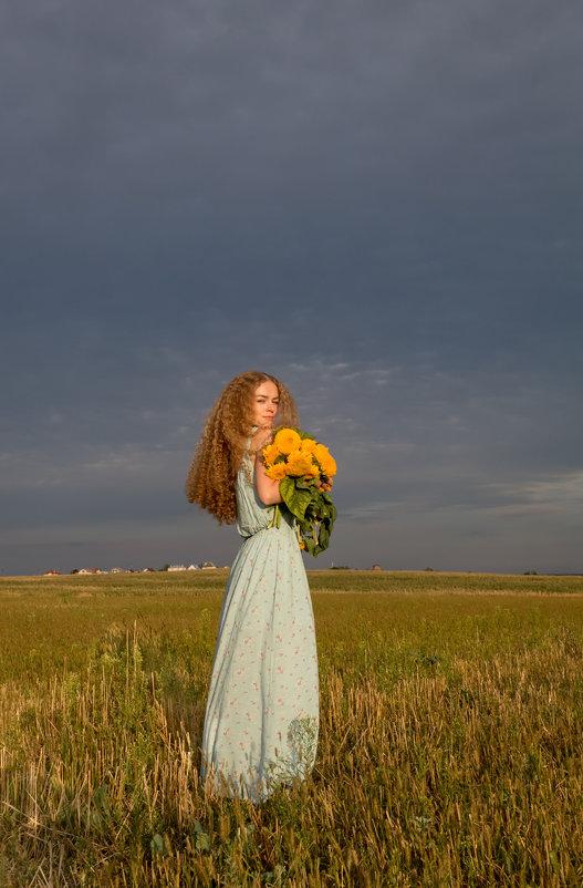 Девушка-лето. - Ольга