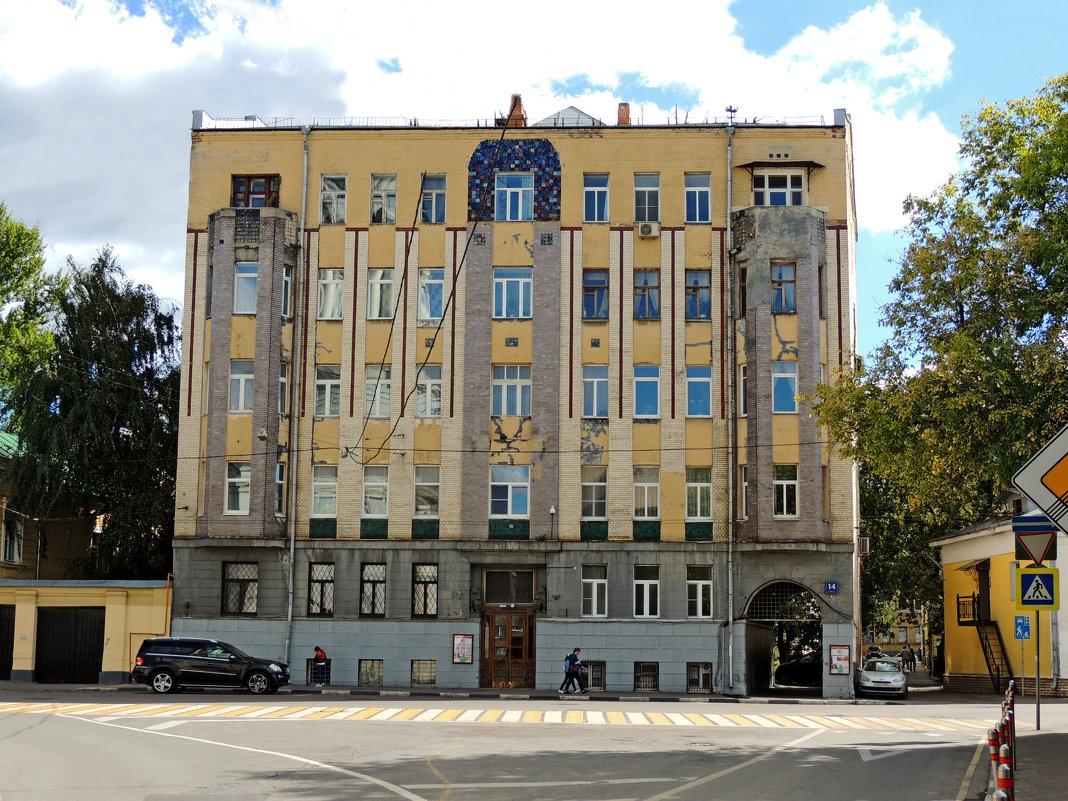 Москва, улица Александра Солженицына, 14 стр. 1 - Александр Качалин