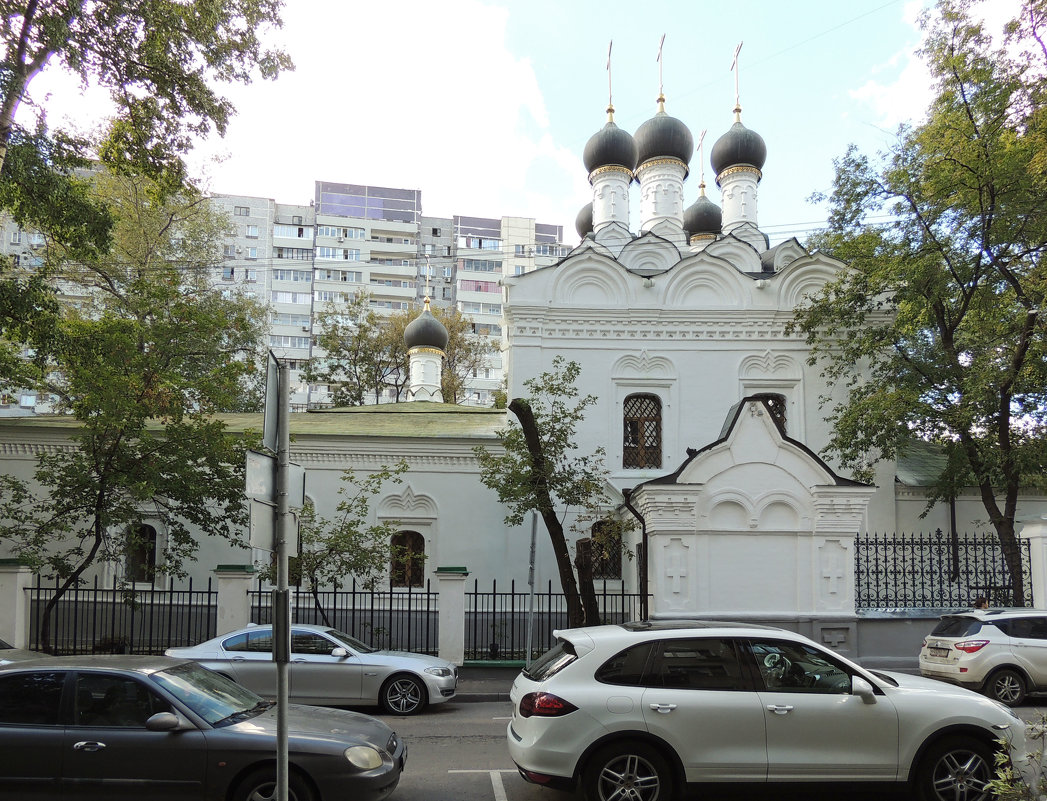 Москва. Церковь Николая Чудотворца на Студенце. - Александр Качалин