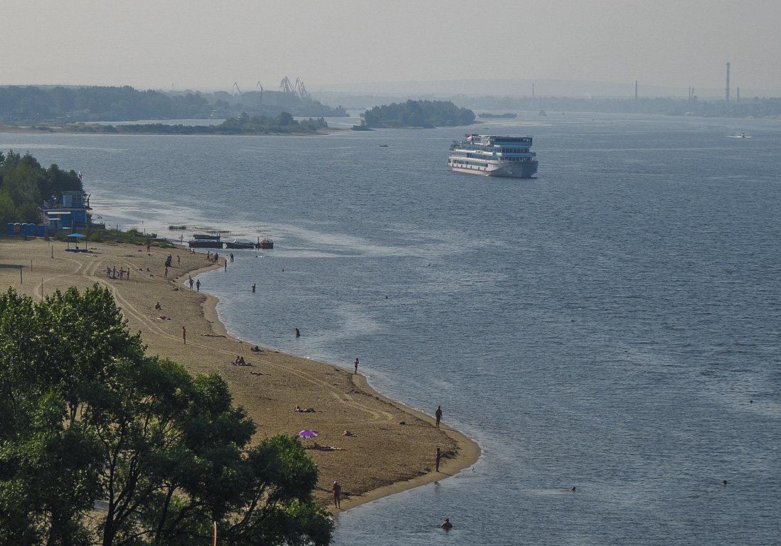 Ярославский пляж на Волге - Сергей Цветков