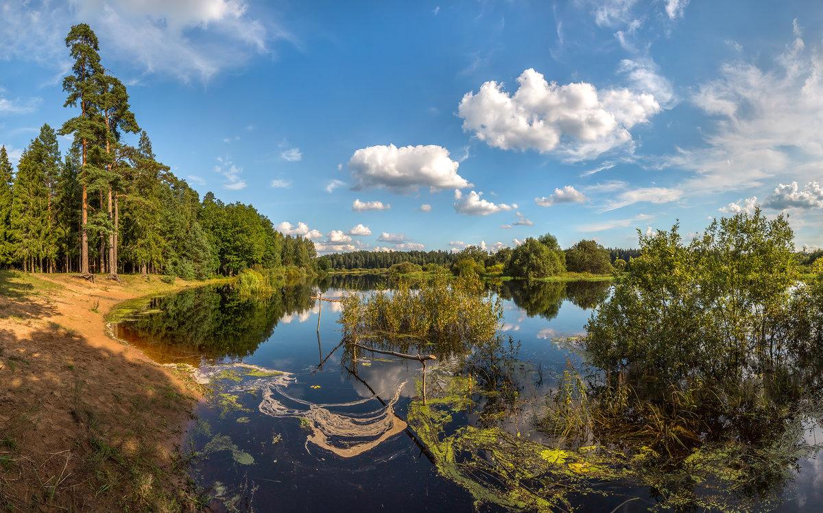Река Оредеж - Фёдор. Лашков