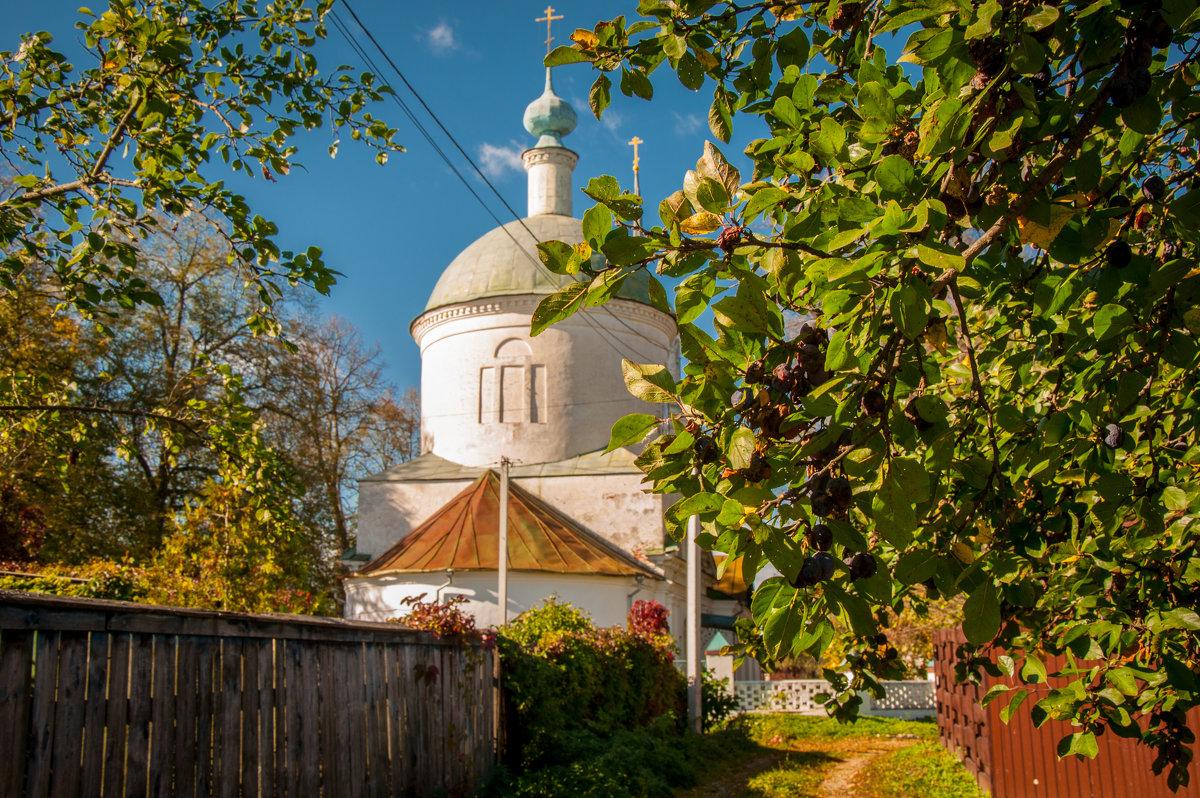 Боровск, Церковь Дмитрия Солунского (1804) в Рябушках - Alexander Petrukhin