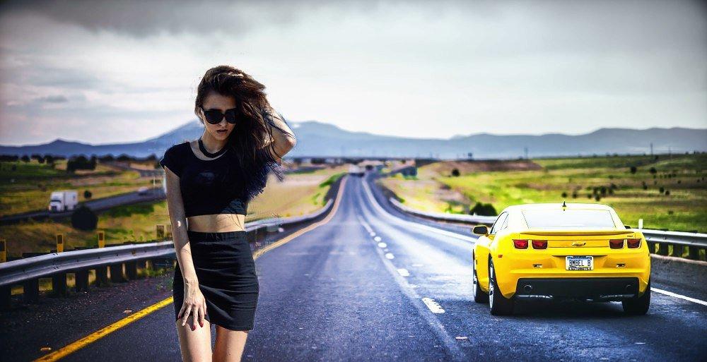 Девушка на дороге - Дарья Дель