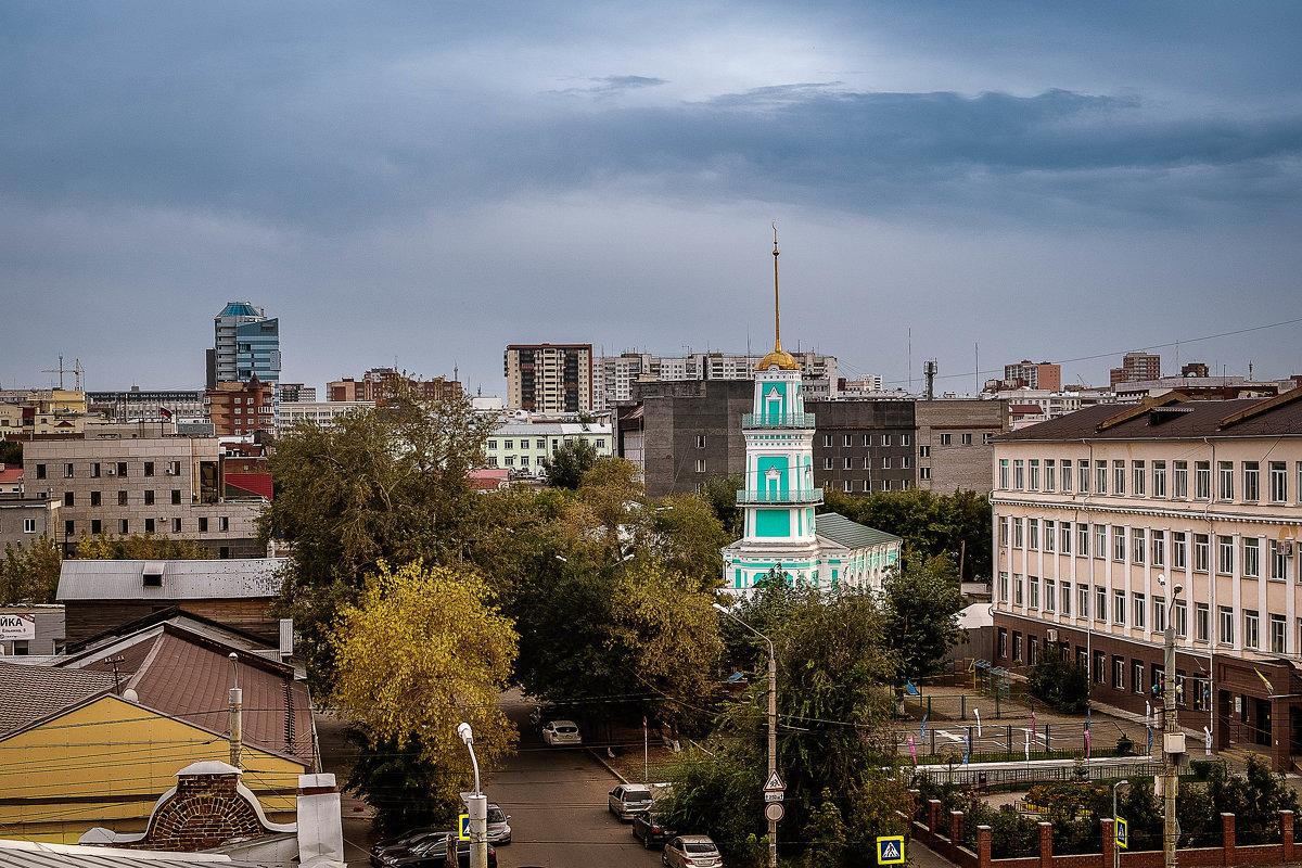 Виды Челябинска. Мечеть - Марк