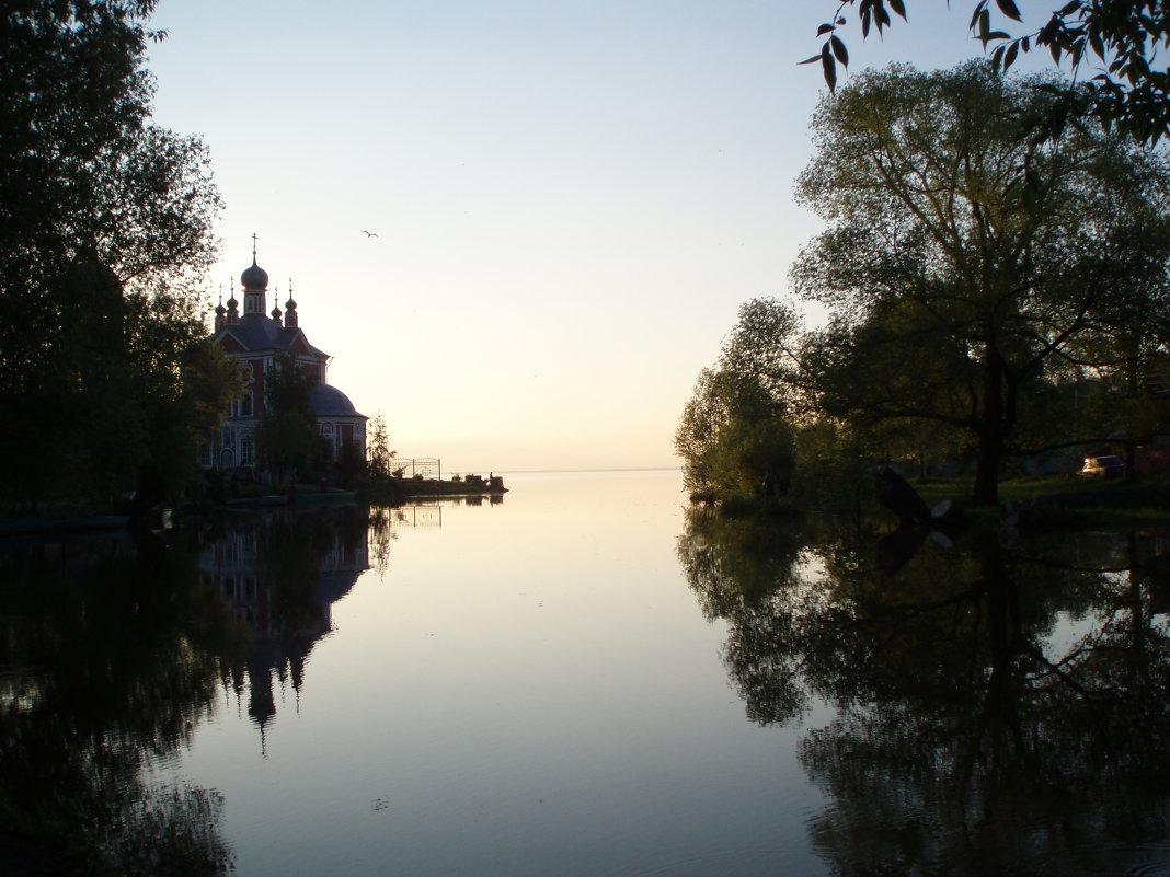 Устье реки Трубеж - елена
