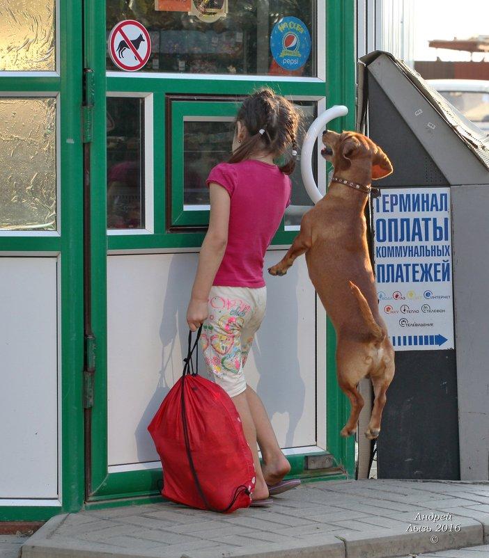 С собаками нельзя........... - Андрей Lyz