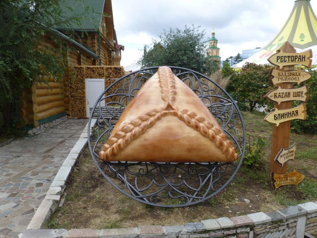 Памятник треугольнику – эчпочмаку - Наиля