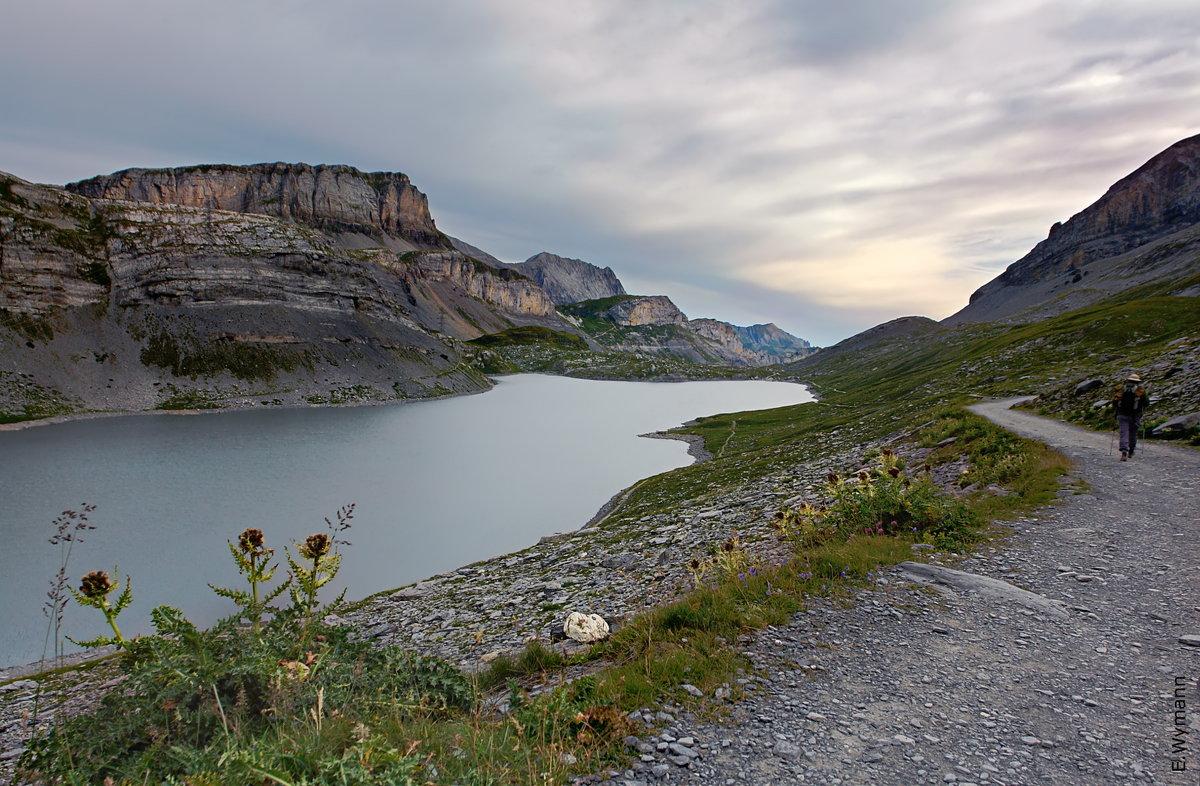 утро в горах - Elena Wymann