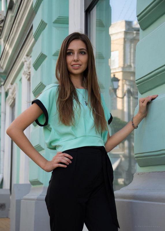 Бирюзовое настроение - Анастасия Митрофанова