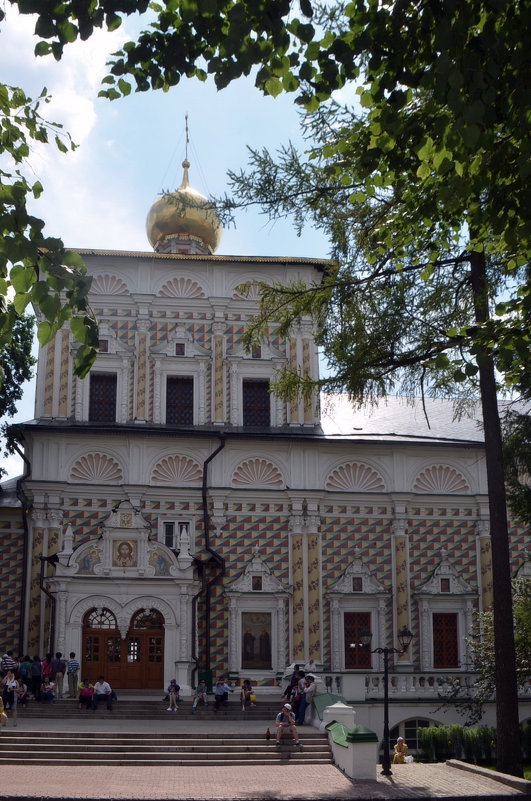 трапезные палаты с церковью Сергия Радонежского - Галина R...