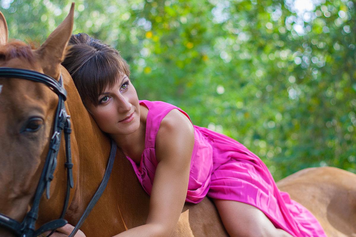 на коне - Екатерина Кузнецова