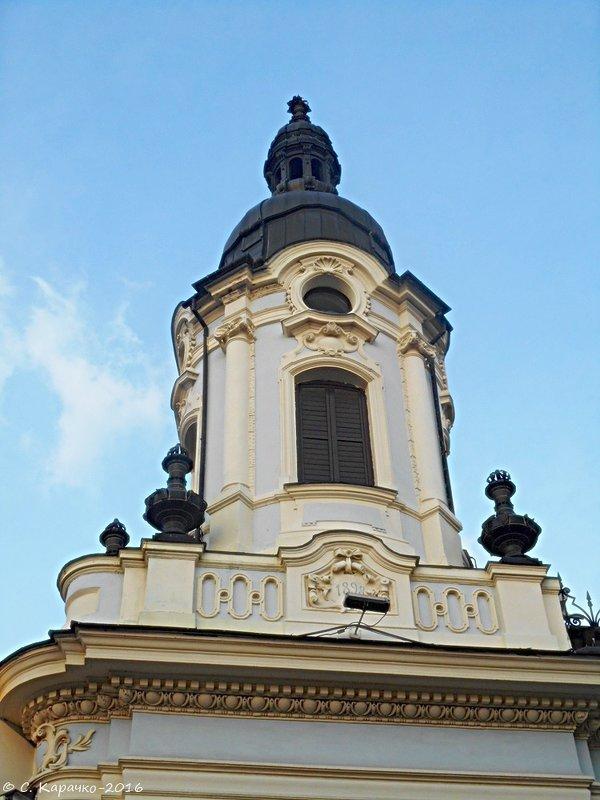 Чернівці архітектурний домінант - Степан Карачко