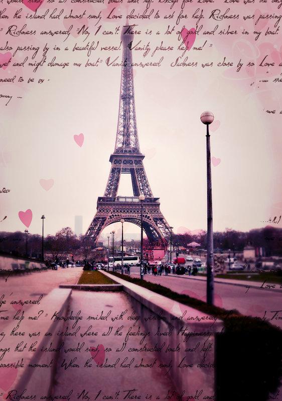 моя открытка Парижа - Galina Belugina