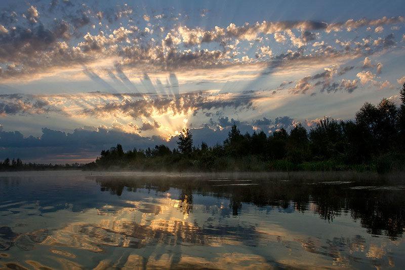 Рассвет над рекой - Тамара Андреева