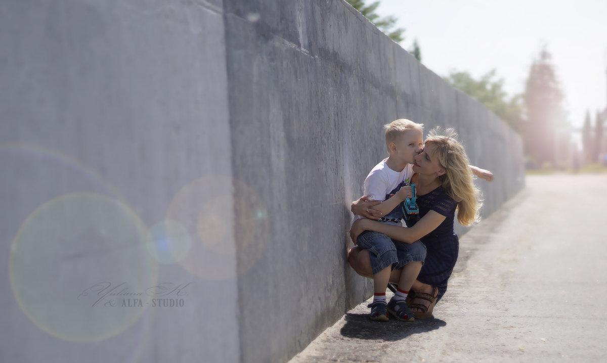 мама и сын - Юлиана Филипцева