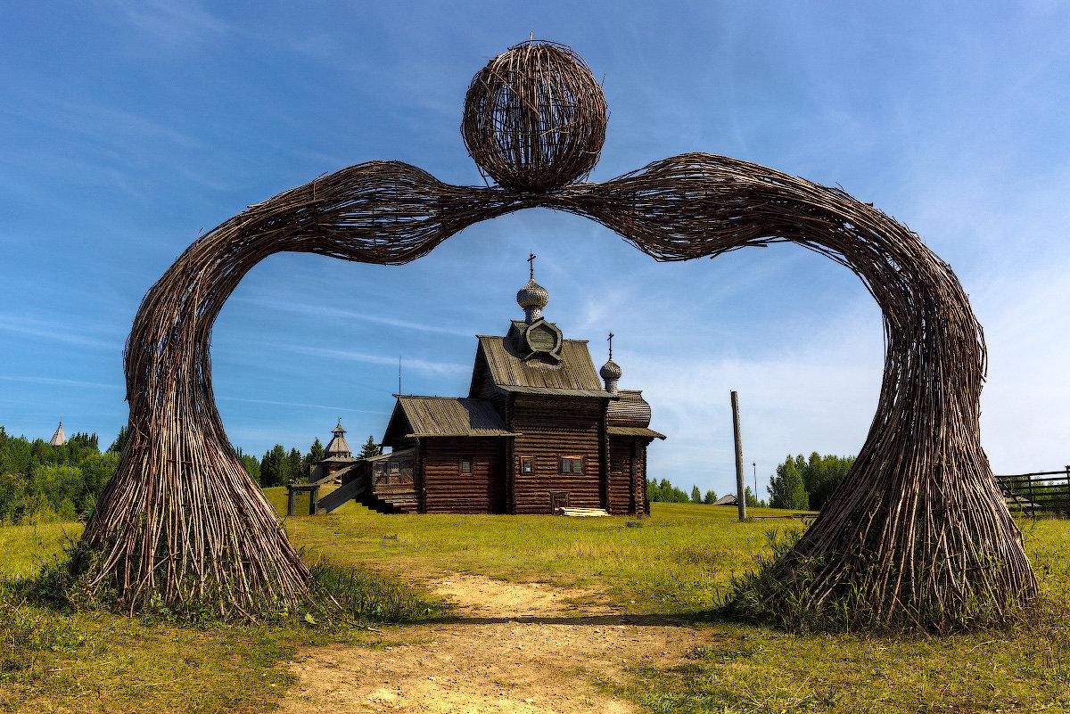 Ворота к храму - Виктор Добрянский