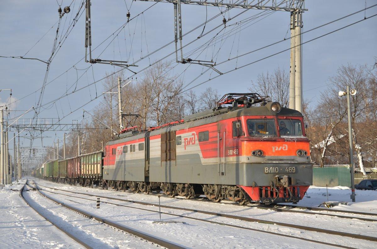 Электровоз ВЛ10-469 - Денис Змеев