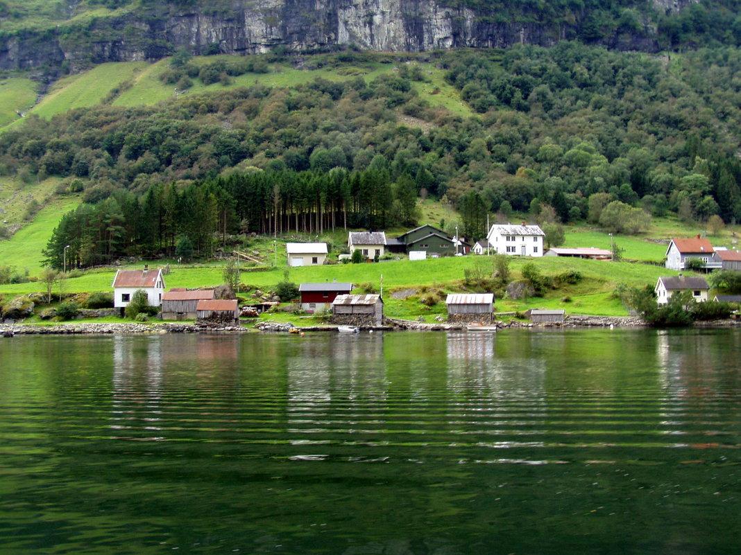 Норвежские фьорды - Лара Амелина