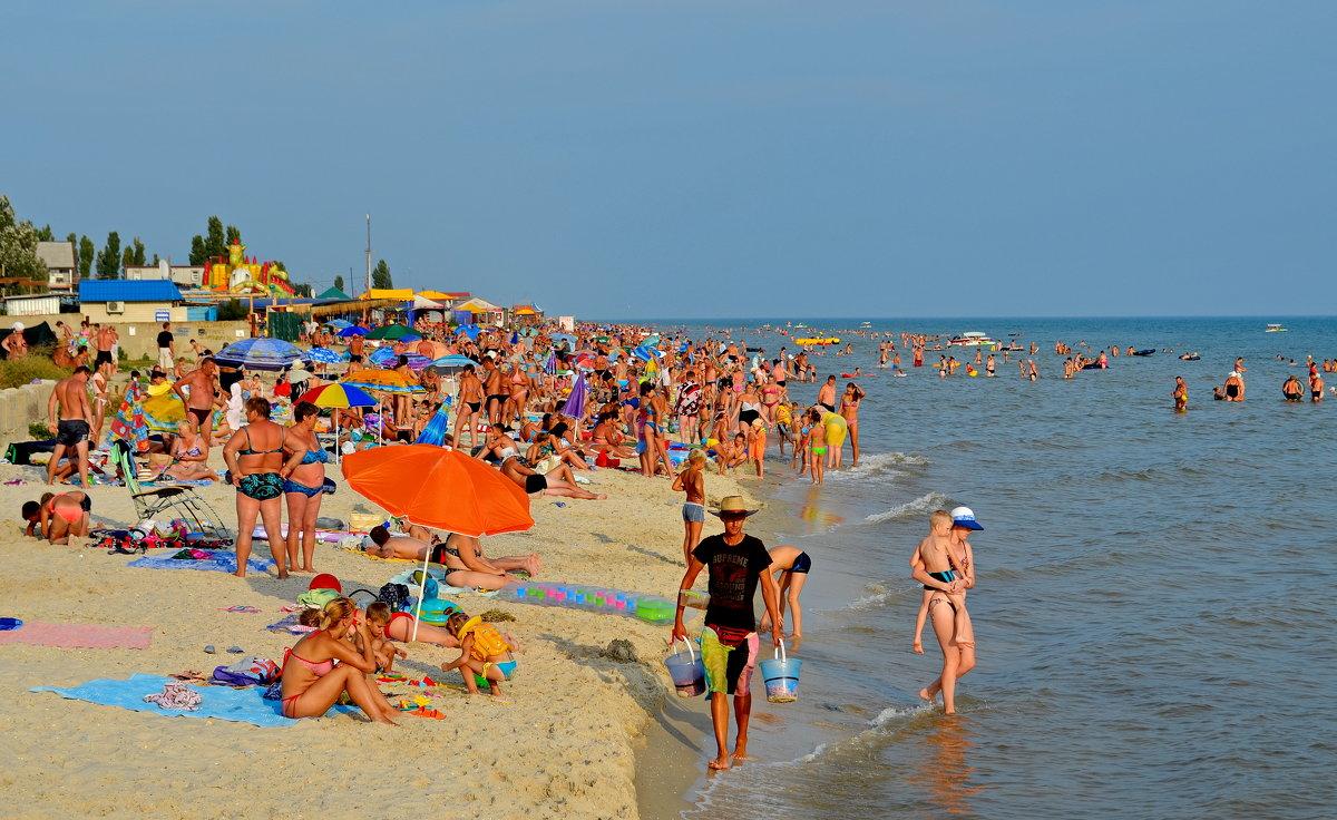 На пляже - Валентина Данилова