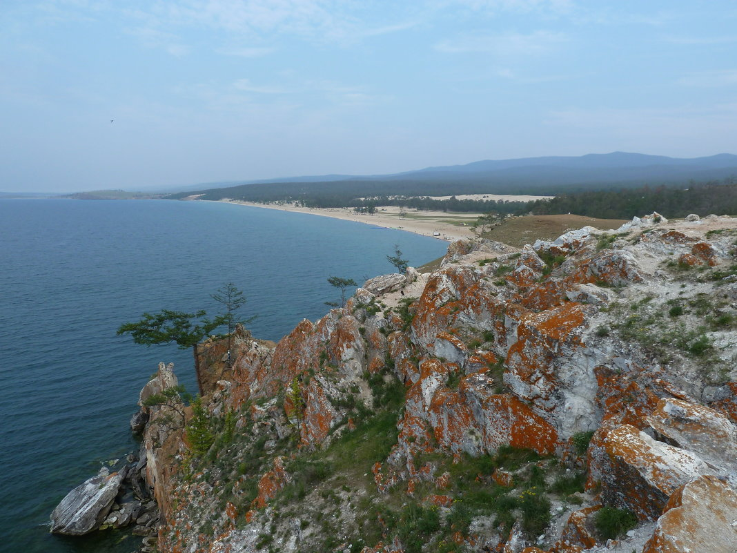 Вид Сарайского пляжа с мыса Бурхан - Галина