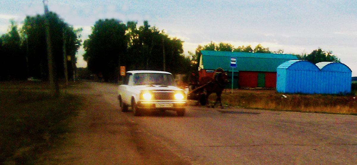 Извечное соревнование лошадиных сил - Владимир Ростовский