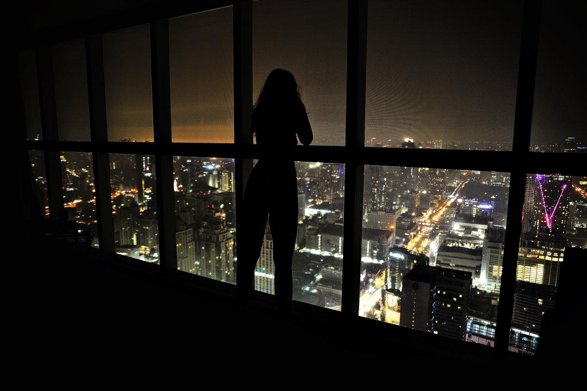 Ночной Бангкок с 72 этажа - Кирилл Антропов