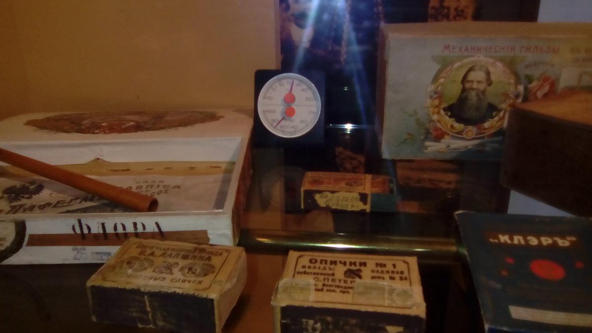 Коробки спичек начала 20 века и другие вещи того времени. - Светлана Калмыкова