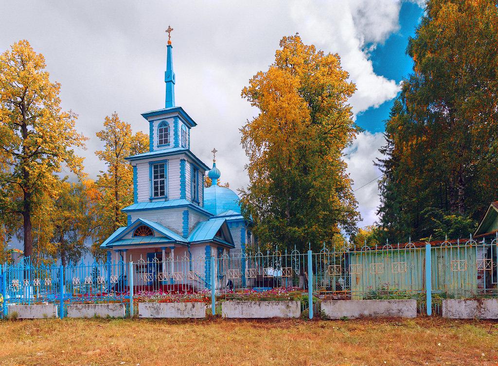 Деревянные храмы России - Виктор Добрянский