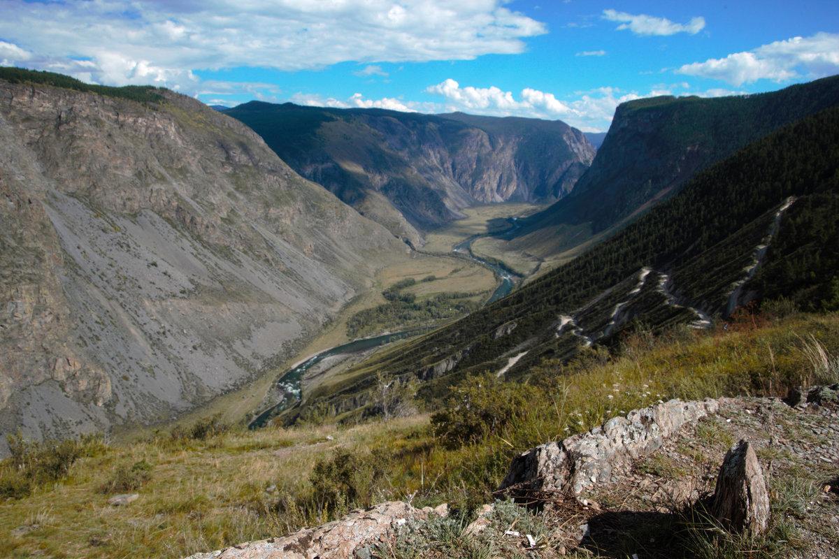 Серпантин к реке Чулымшан - liudmila drake