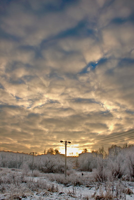 На закате - Надежда