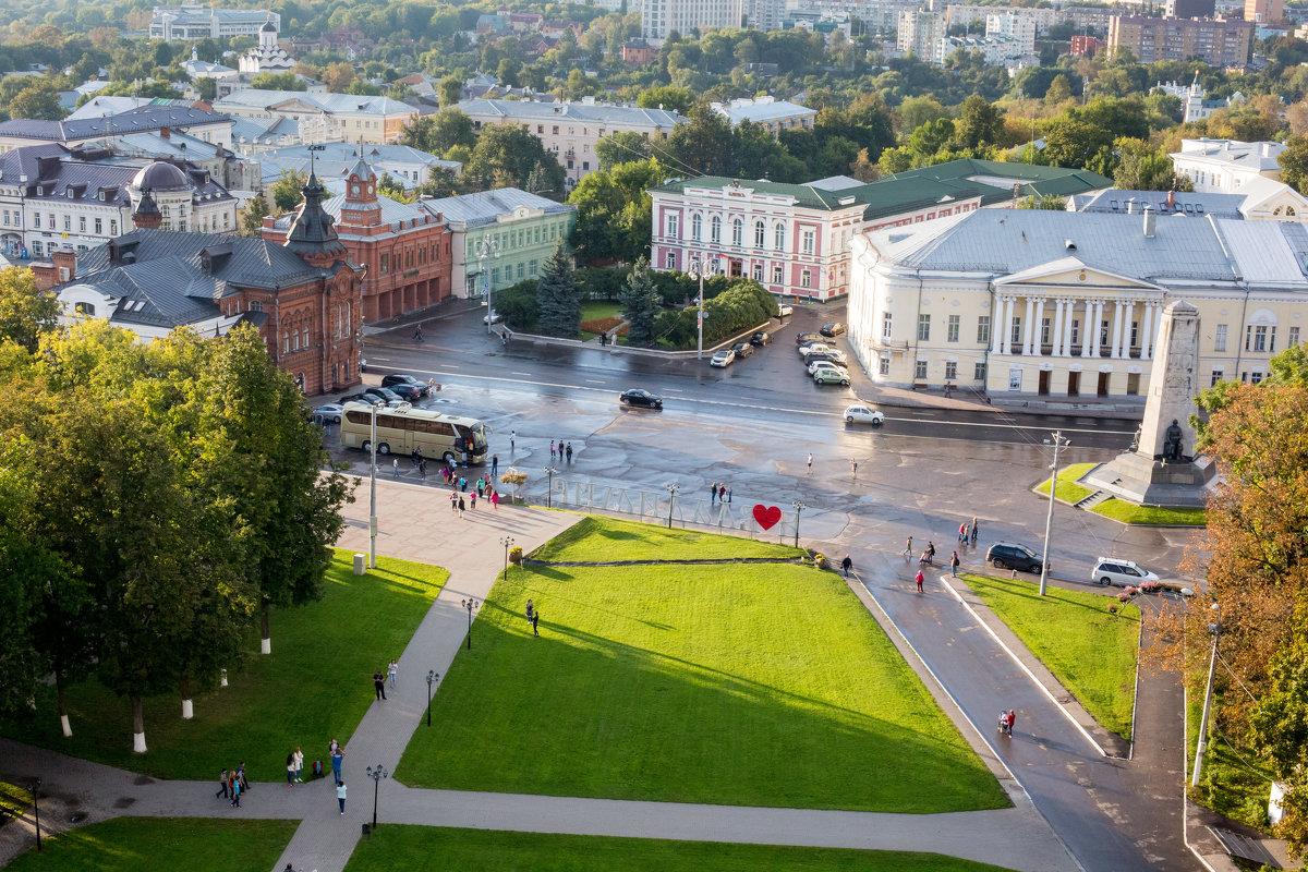 Соборная площадь г. Владимир - ИГОРЬ ЧЕРКАСОВ