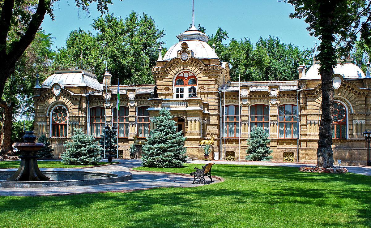 Бывшая резиденция Великого князя Николая Константиновича в Ташкенте - Светлана