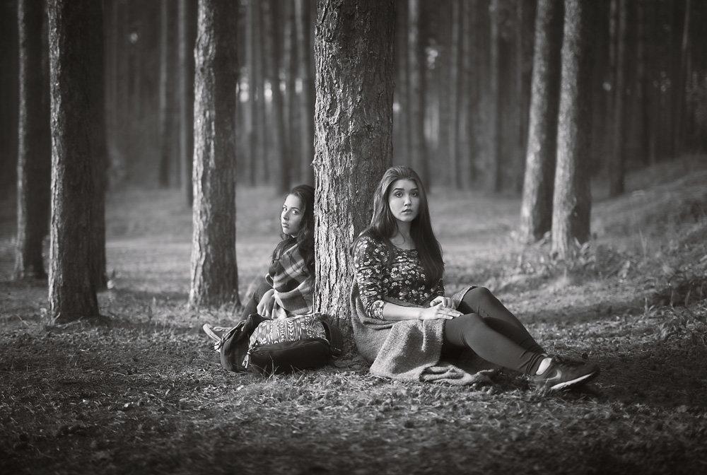 Девушки и лес - Алекс Римский