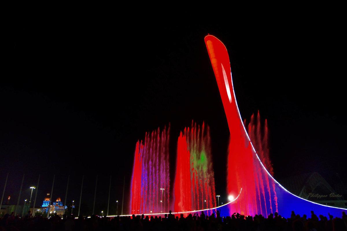 Ночное шоу фонтанов (Олимпийский Парк Адлер-Сочи) - Виктор (Victor)