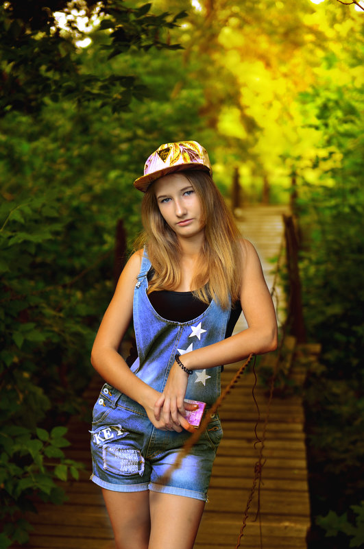 девушка - владимир