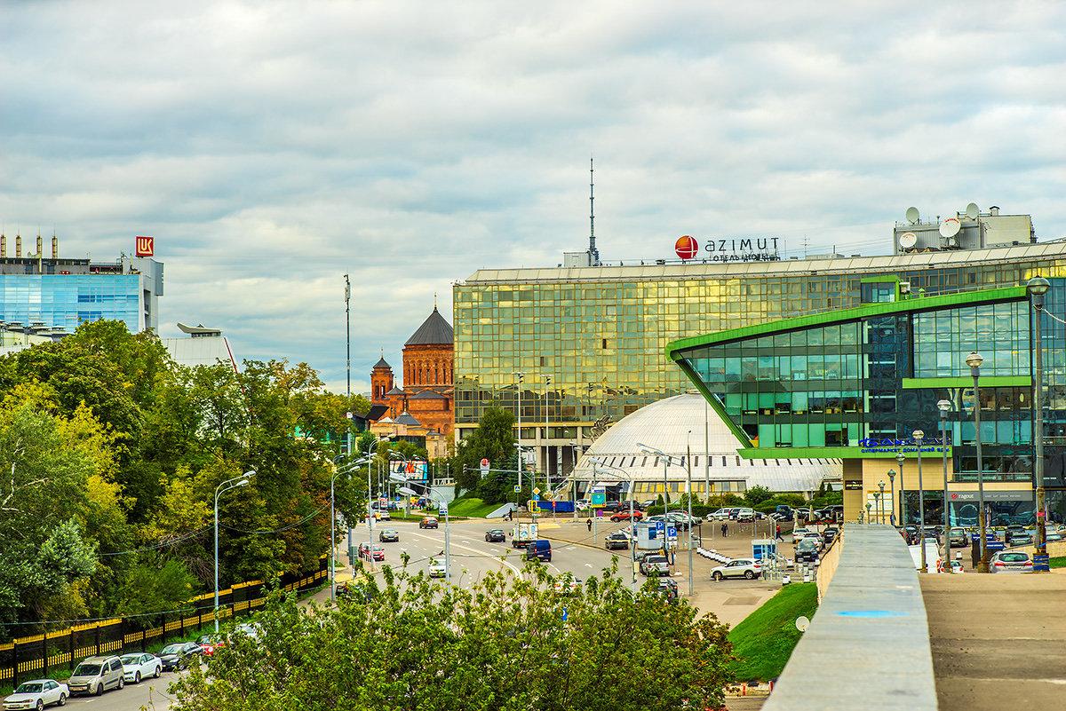 Москва, вид от спорткомплекса Олимпийский - Игорь Герман