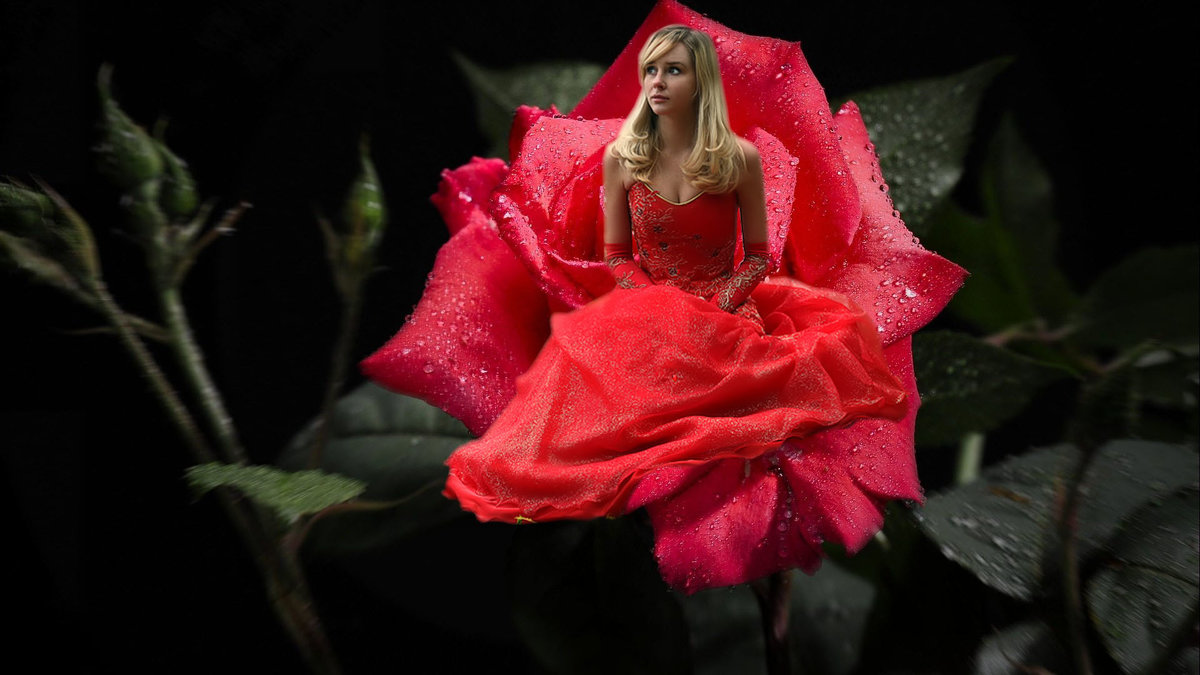 Цветочная фея - Оля Дубровкина