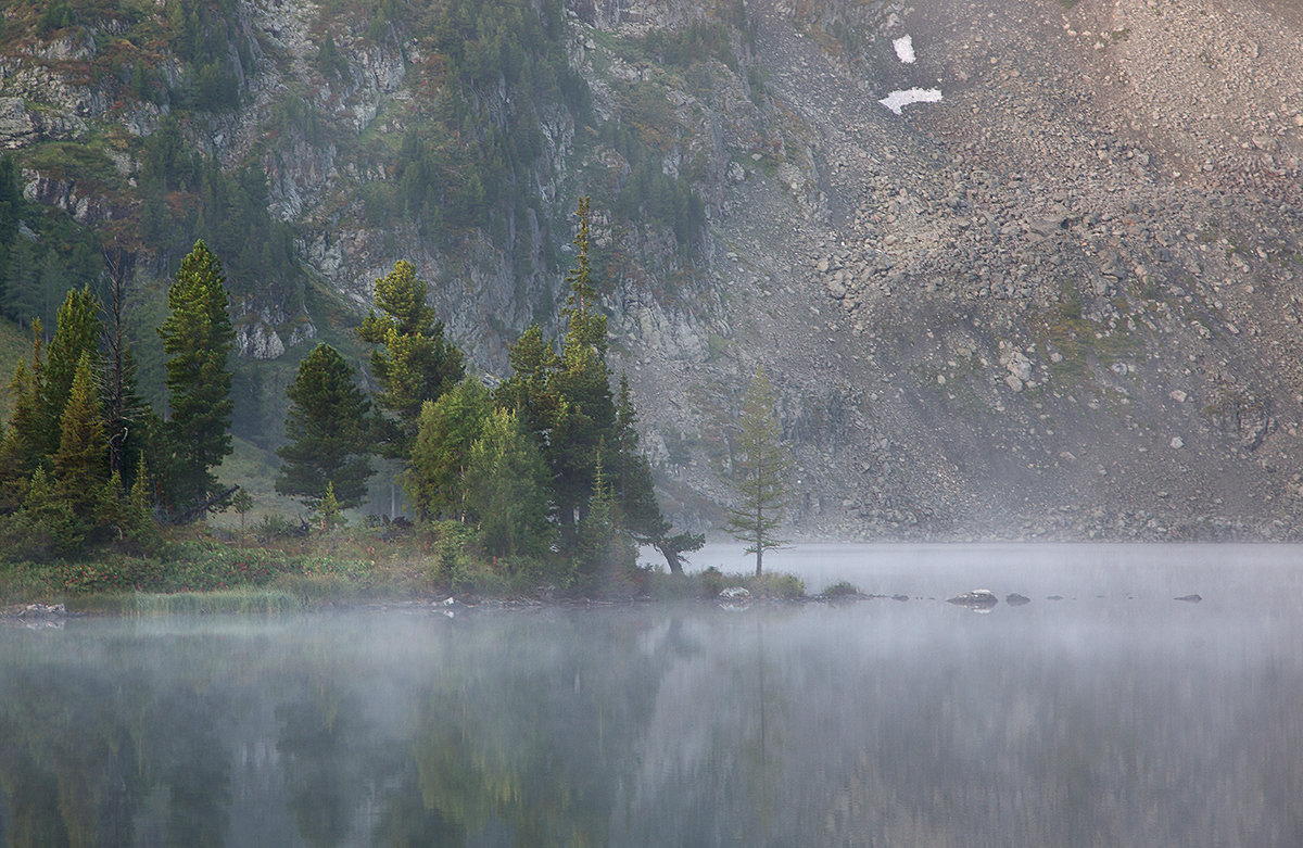 Утро на горном озере - Евгений ...