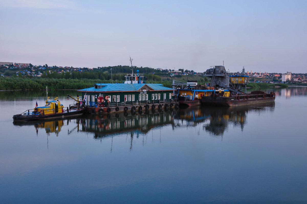 Плавучий дом на реке Белой - Сергей Тагиров